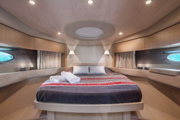 Princess-V53-Ibiza-Boat-Double-room