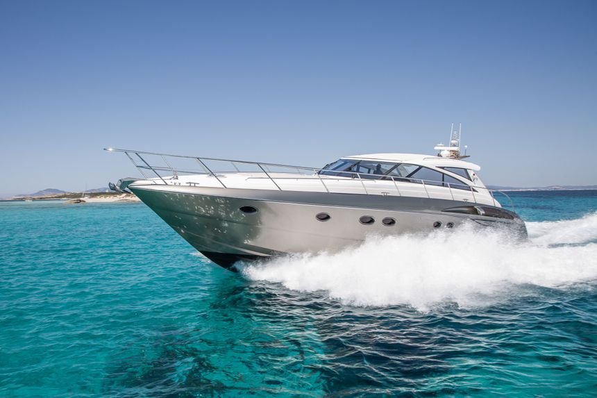 Princess-V58-Ibiza-Rent-Boat